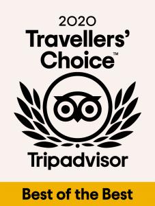 Tripadvisor Travelers' Choice Award 2020 blue waves egypt